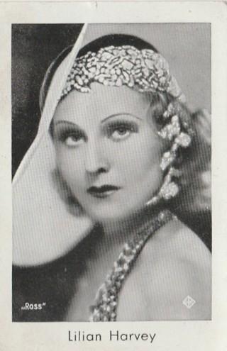 Josetti Filmbilder Lillian Harvey cigarette card 546 original not reprint 1930s