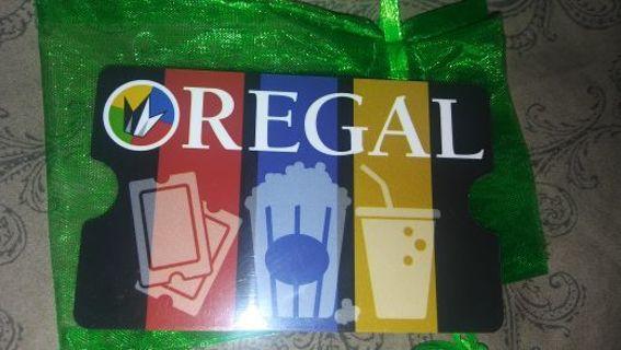 $10 Regal Cinemas Gift Card