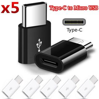 Micro USB 3.1 Type-C Male to USB Female Converter USB-C Data Cable Adapter 5x