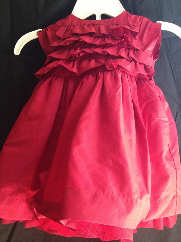 free perfect little babys red christmas dressfrom baby gap size 12 18 months baby clothes listiacom auctions for free stuff - 12 Month Christmas Dress