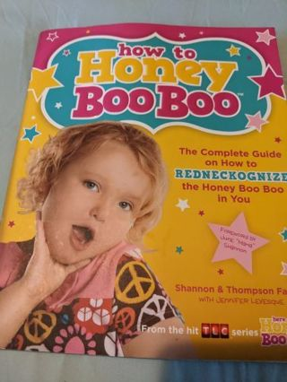 REDUCED how to Honey Boo Boo Guide by the Family Book