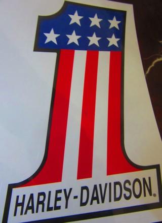 Harley Davidson 4 x 6 inch sticker