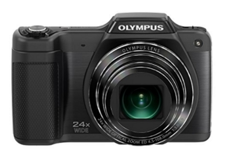 Olympus Stylus SZ-15 Digital Camera with 24x Optical Zoom and 3-Inch LCD (Black) - FREE SHIPPING