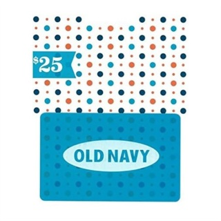 $25 Old Navy Gift Card - FREE PHYSICAL DELIVERY!