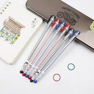 6Pcs/Lot M&G Gel Pen 0.35mm New Cute Creative Gel ink Pen Black/Blue/Red ink School Office Supply