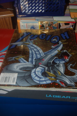 Yu-Gi-Oh Beckett Price Guide 2006 Chimeratech Overdragon on cover