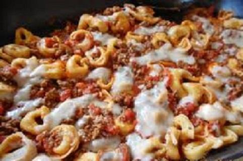 ❄ (New) Cheese Tortellini in Meat Sauce Recipe ❄