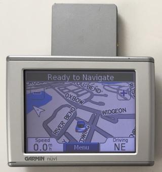 "Garmin nuvi 350 NA 3.5"" Portable GPS Automotive Mountable Navigation System - Tested / Working!"