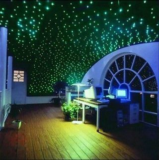 200pcs Glow In The Dark 3D Moon Stars Stickers Bedroom Home Wall DIY