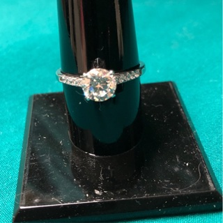 Silver tone Ring - Size 7.5