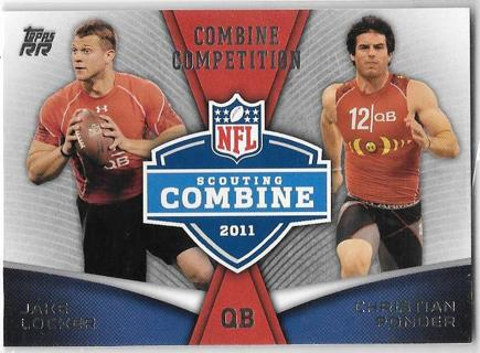 (3) ~ 2011 Topps Rising Rookies Combine Competition
