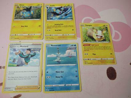 Pokemon battle styles (rapid strike)