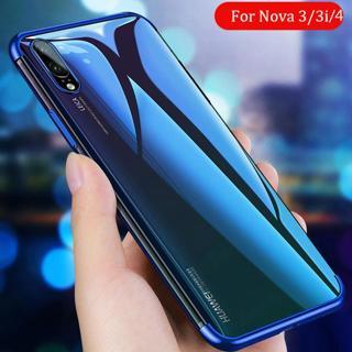 Cases for Huawei Nova 3 Case for Huawei Nova 4 3i 3 Mobile Phone Bag Plating Soft TPU Case for Hua