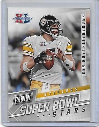 Ben Roethlisberger 2018 Panini Super Bowl Stars #10