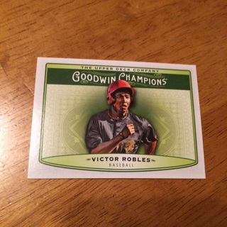 2019 Goodwin Champions - [Base] #99 Horizontal - Victor Robles