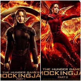 2 movies! Hunger Games Mockingjay part 1 & 2 Uv digital movie code vudu