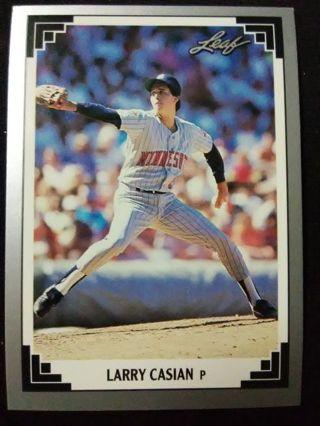 1991 Leaf Larry Casian Baseball Card #481