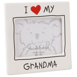 Free I Love My Grandma Ceramic Picture Frame From Babies R Usnew W