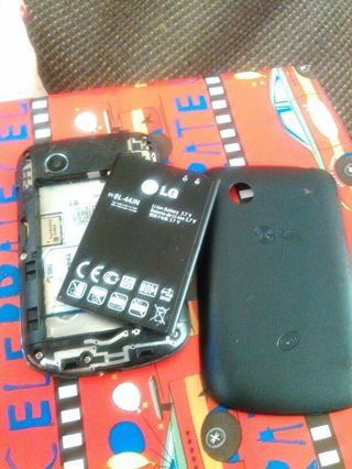 LG TRAC PHONE.PARTS ONLY