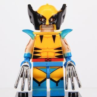 New Wolverine Minifigure Building Toy Custom Lego