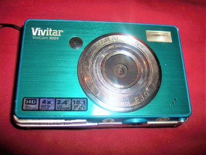 Vivitar Vivicam X024 10.1 MP Digital Camera