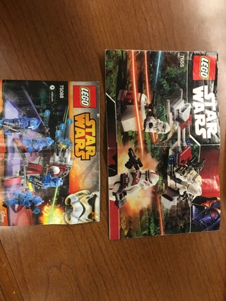 Free Lego Star Wars Instructions 7655 Clone Troopers Battle Pack