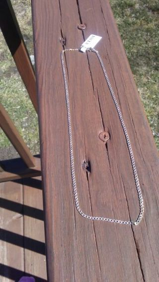 """BNWT 16"""" 10kt REAL GOLD chain very delicate"""
