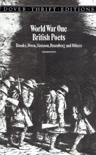 World War One British Poets Book Brooke, Owen, Sassoon, Rosenberg & Others Excellent Condition