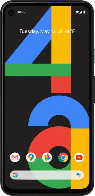 Google - Pixel 4a 128GB (Unlocked) - Just Black