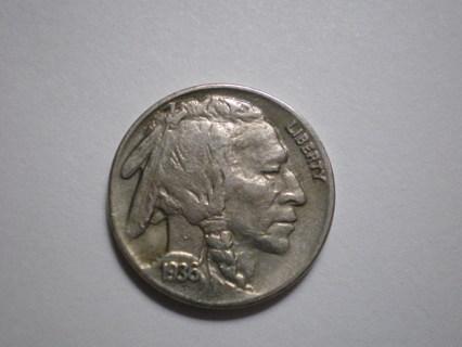 1936 P Buffalo Nickel Full Horn EF/XF