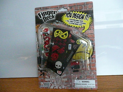 Free Tech Deck Finger Deck Design Your Own Mini Skateboard New
