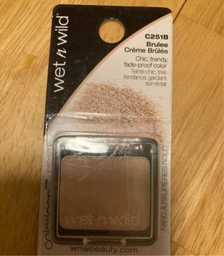 Wet N Wild Creme Brulle Eyeshadow/new