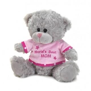 World's Best mom Plush bear  new