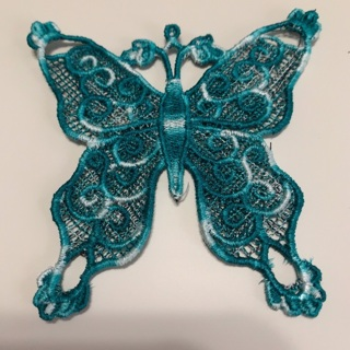 Butterfly Embroidered Appliqué