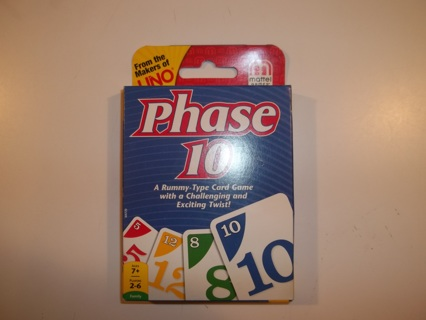 Phase 10 ***BRAND NEW***
