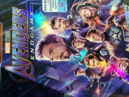 Avengers Endgame HD Digital Copy download Code with Bonus Captain America Mini Film.