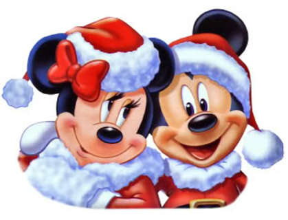 free mickey minnie mouse christmas address labels