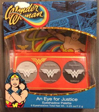 Wonder Woman An Eye for Justice Eyeshadow Palette
