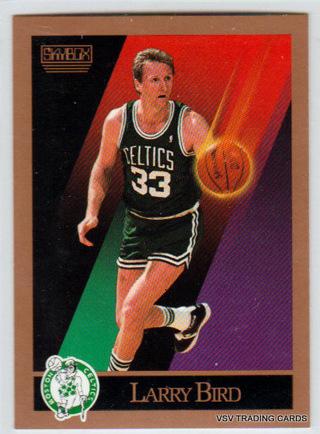 LARRY BIRD, 1990 Skybox Card #14, Boston Celtics