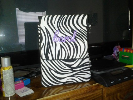 Awesome Zebra Tablet Case Brand New