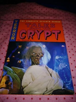 ⚛✨⚛✨⚛TALES FROM THE CRYPT COMPLETE 7TH SEASON DVD SET IN LIKE NEW CONDITION⚛✨⚛✨⚛PLEASE READ!