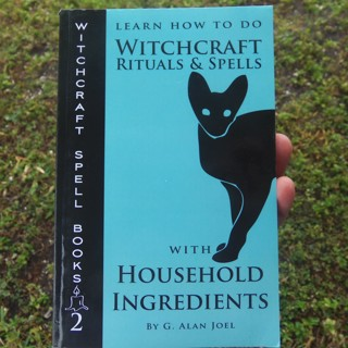 WITCHCRAFT RITUALS & SPELLS WITH HOUSEHOLD INGREDIENTS ☽✪☾ Wicca Witch Magick ~ FREE SHIPPING
