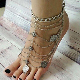 Bohemian Foot Chain Jewelry