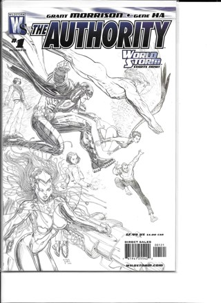 The Authority #1 World Storm Comics