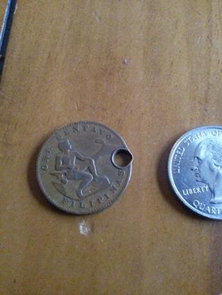 1944  1 Centavo Coin