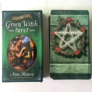 Green Witch Tarot New free ship No Guide