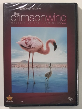 Disney Nature - The Crimson Wing Mystery of the Flamingos DVD - Partially Sealed