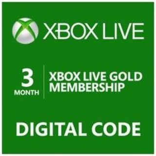 3 Month Xbox Live Gold Membership - [Digital Code] Pay with XNK!