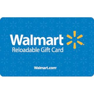 WALMART CARDS - FIVE GIFT CARDS (5 OF $10)