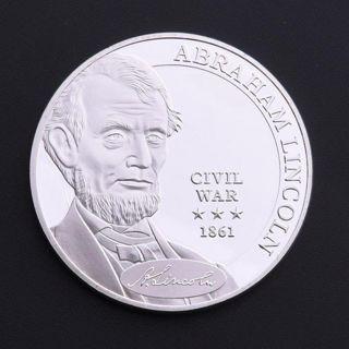 1pc Lincoln Civil Right Silver Commemorative Coin